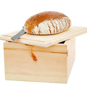 Zirbenholz Brotkasten