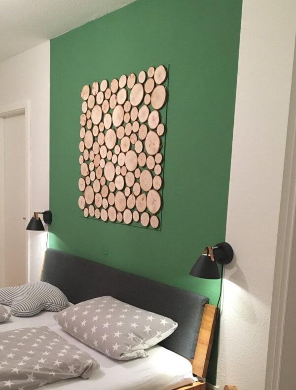 Zirbenholz-Baumscheiben