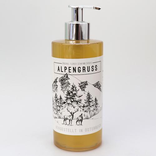 Zirbenseife Alpengruß 400 ml