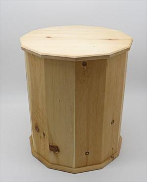 Zirbenholz Gamsbart-Schachtel