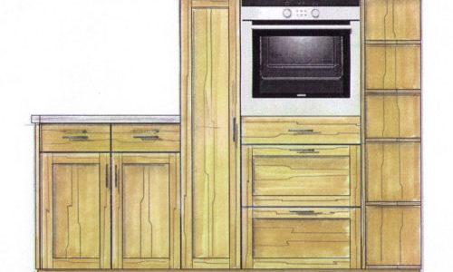 Planung Schreiner Küche