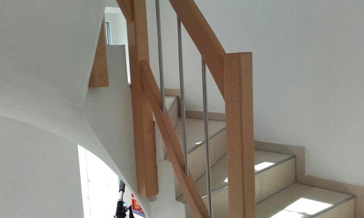 Treppengeländer Buche