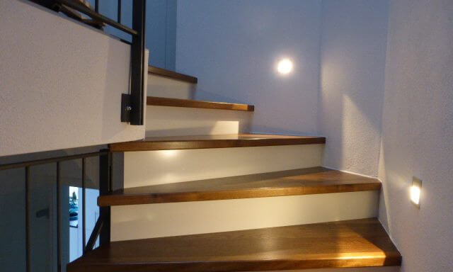 Treppenstufen Eiche geräuchert