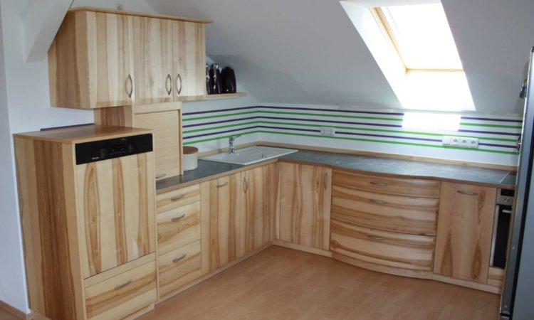 Küche Esche mit Kern
