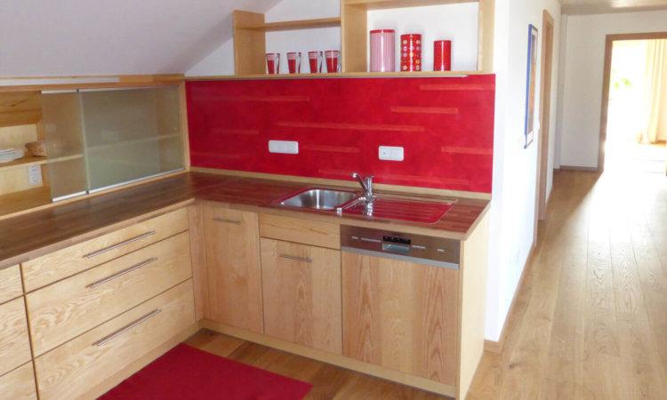 Küche aus Eschenholz