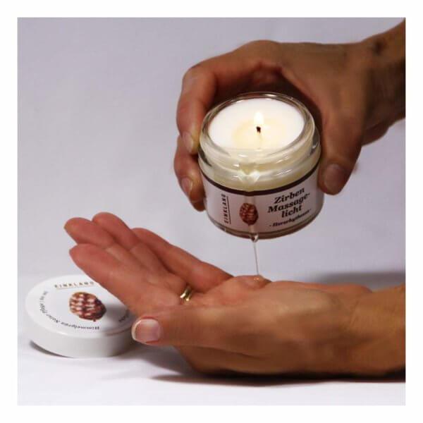 Zirben-Massage Licht